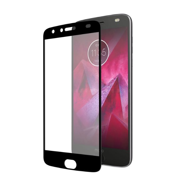 Película Coverage 5D Pro Preta para Motorola Moto Z2 Play - Gshield