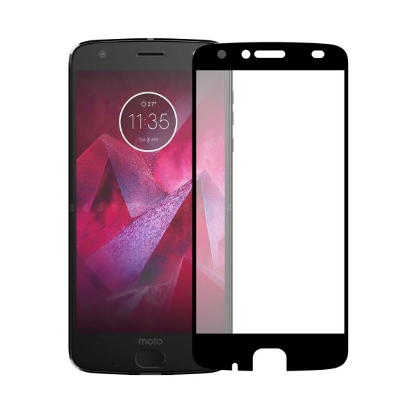 Película Coverage Color para Moto Z2 Force - PRETA - Gorila Shield