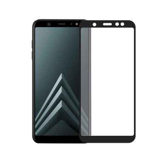 Película Coverage Color para Samsung Galaxy A6 2018 - PRETA - Gorila Shield