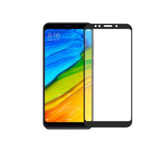 Película Coverage Color para Xiaomi Redmi 5 Plus - Preta - Gorila Shield