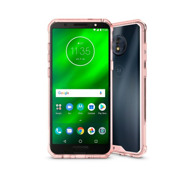 Capa Ultra Slim Air Rosa para Motorola Moto G6 Play - Gorila Shield