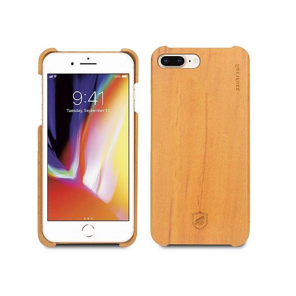 Capa de Madeira Peroba Clara para iPhone 8 Plus e iPhone 7 Plus - Gorila Shield