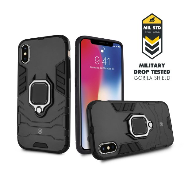 Capa Defender Black para Iphone X e XS - Gorila Shield