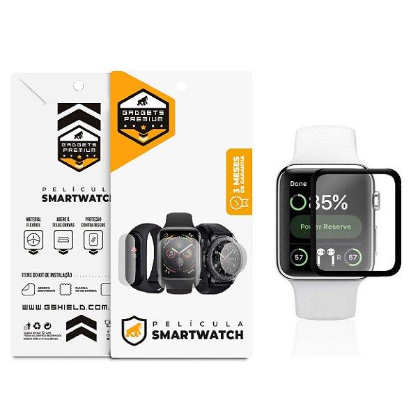 Película Nano Gel Dupla com Bordas Pretas para Apple Watch 38mm - Gshield