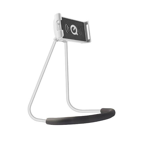 Suporte de Pescoço para Smartphone Branco - Gorila Shield