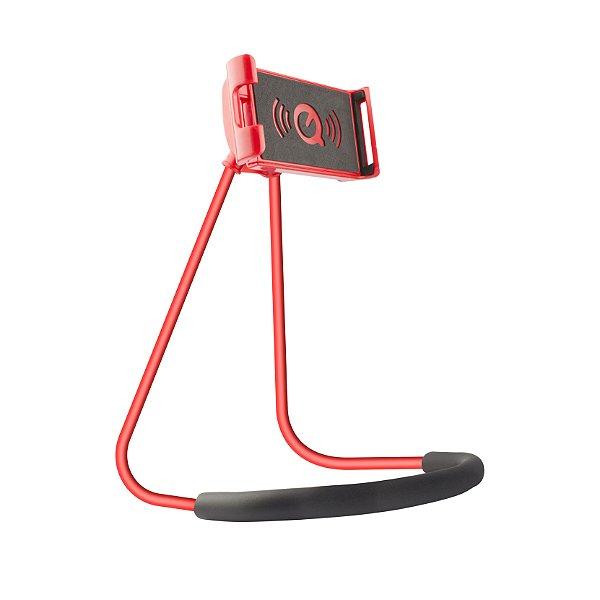 Suporte de Pescoço para Smartphone Vermelho - Gorila Shield