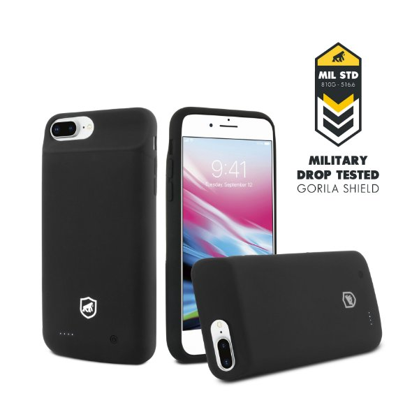 Capa Carregadora Tank para iPhone 7 Plus e iPhone 8 Plus - Gorila Shield
