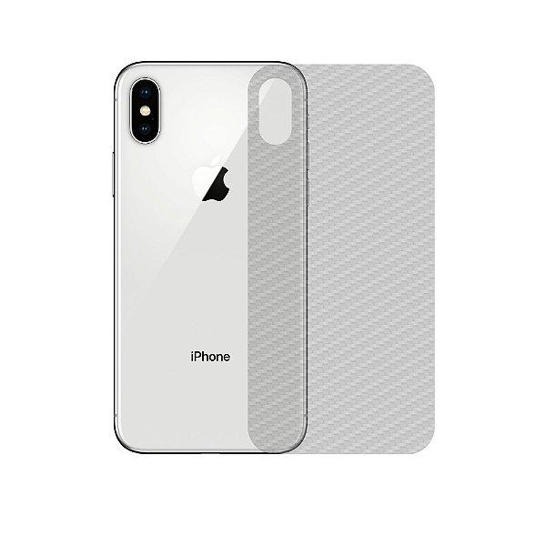 Película Traseira de Fibra de Carbono Transparente para iPhone XS Max - Gshield