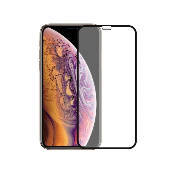 Película Coverage Color para Iphone XS Max - Preta - Gorila Shield