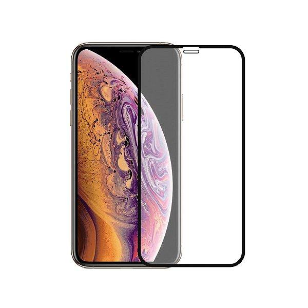 Película Coverage Color para Iphone XS Max - Preta - Gshield