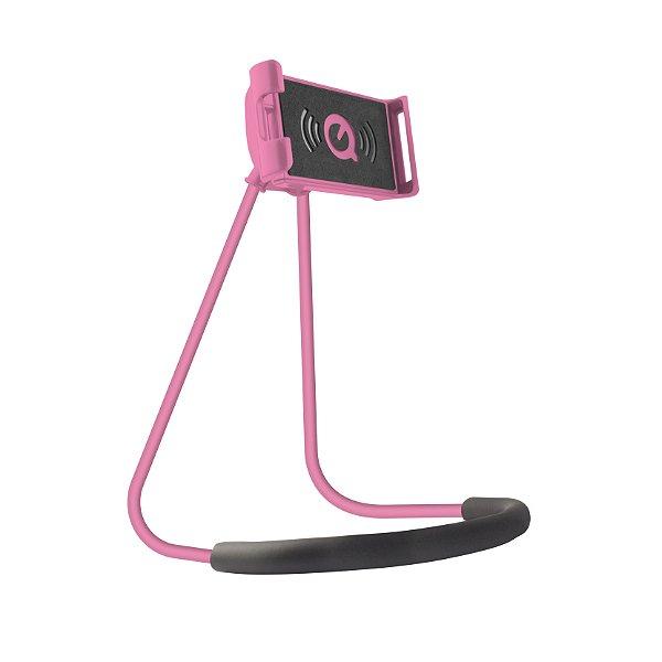 Suporte de Pescoço para Smartphone Rosa - Gorila Shield