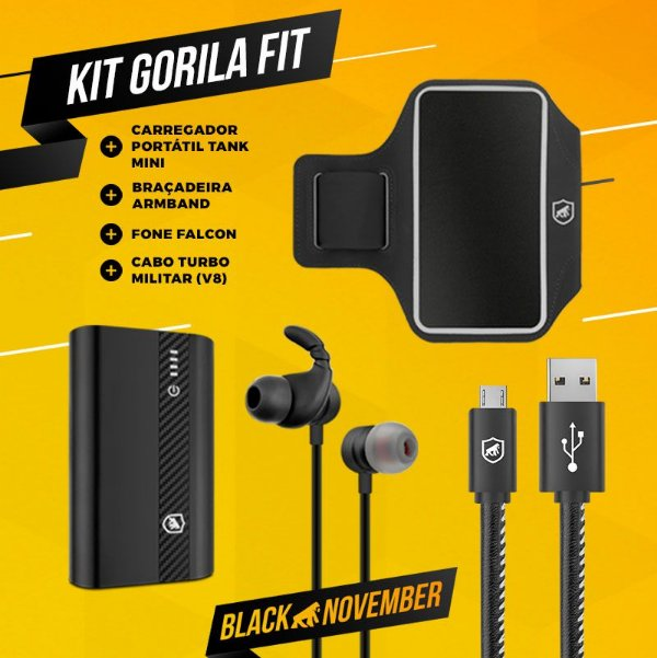 KIT GORILA FIT 1 - OUTLET