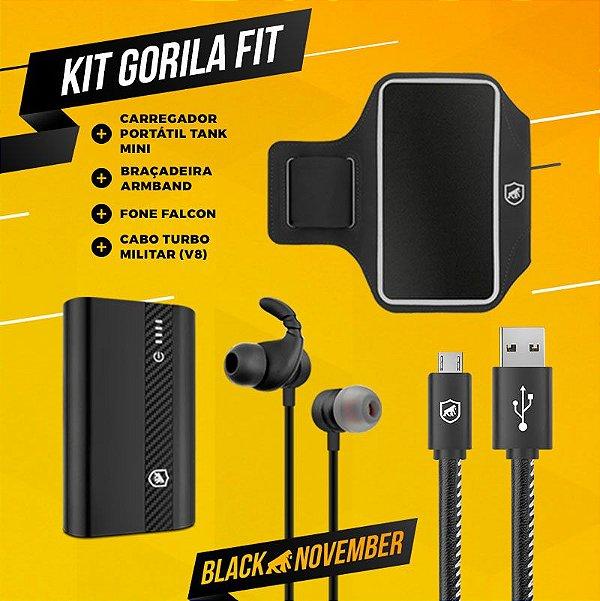 KIT GORILA FIT 1 - BLACK NOVEMBER