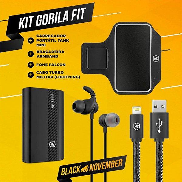 KIT GORILA FIT 2 - BLACK NOVEMBER