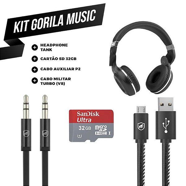 KIT GORILA MUSIC 2 - OUTLET
