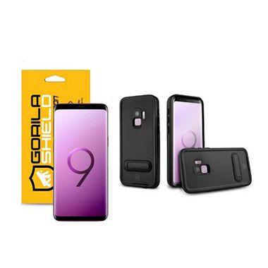 Kit Capa á Prova D'água e Película Nano Gel Dupla para Galaxy S9 - Gorila Shield