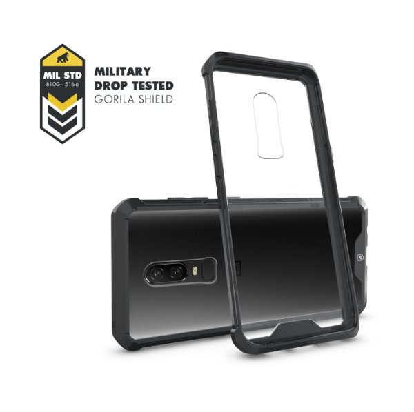Capa Ultra Slim Air Preta para Oneplus / One Plus 6 - Gorila Shield