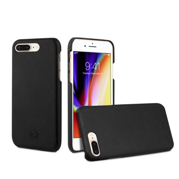 Capa Couro Slim Preta para iPhone 7 Plus e iPhone 8 Plus - Gorila Shield