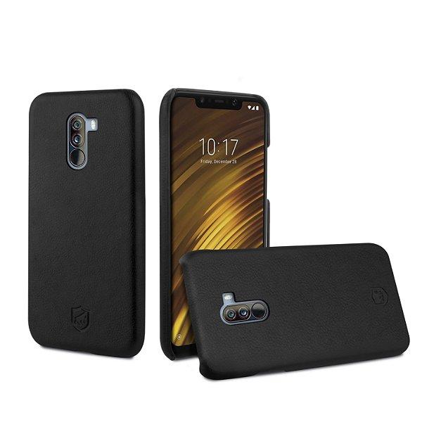Capa Couro Slim Preta Xiaomi Pocophone F1 - Gorila Shield