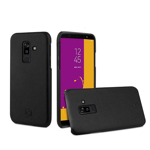Capa Couro Slim Preta para Samsung Galaxy J8 - Gshield