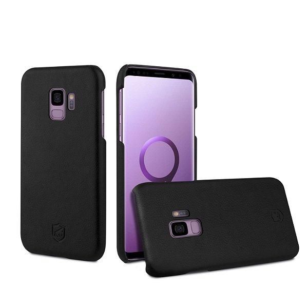 Capa Couro Slim Preta para Samsung Galaxy S9 - Gorila Shield