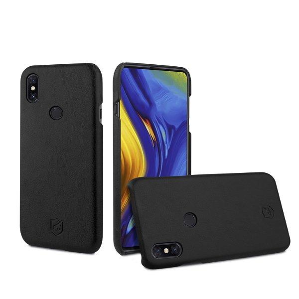 Capa Couro Slim Preta para Xiaomi Mi Mix 3 - Gorila Shield