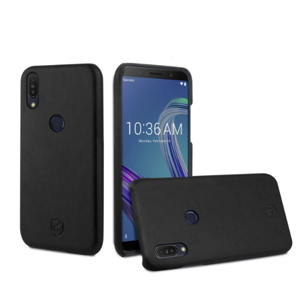 Capa Leather Slim Preta Zenfone Max Pro M1 - Gorila Shield