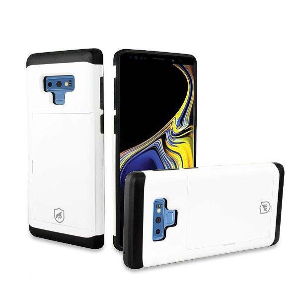 Capa Card Slot Branca para Galaxy Note 9 - Gorila Shield