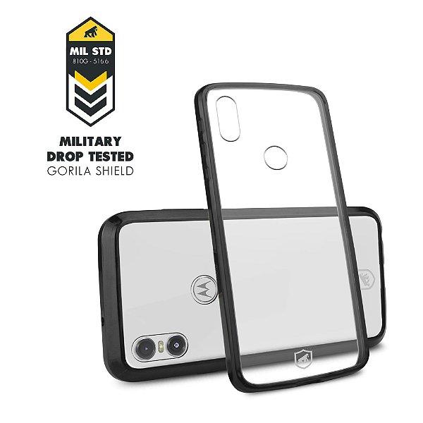 Capa Ultra Slim Air Preta para Motorola One - Gorila Shield