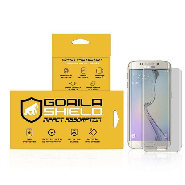 Película Nano Gel Dupla para Samsung Galaxy S6 Edge – Gorila Shield (Cobre toda tela)
