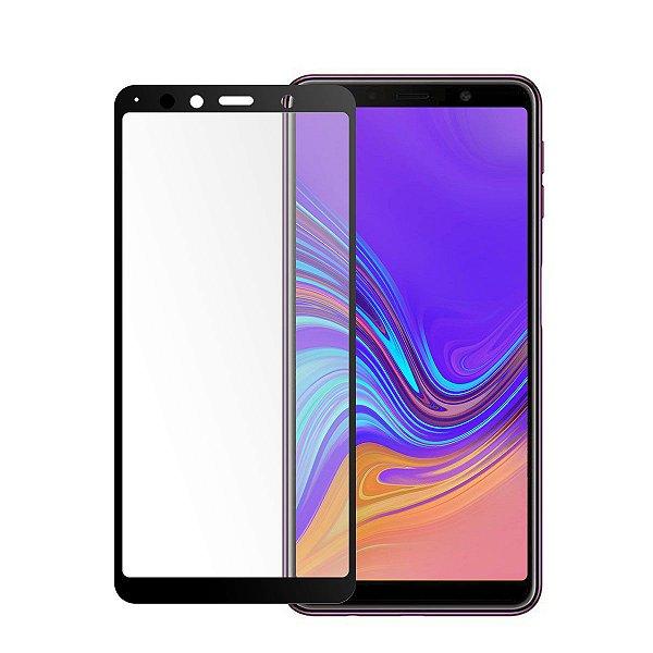 Película Coverage 5D Pro Preta para Galaxy A9 2018 - Gshield