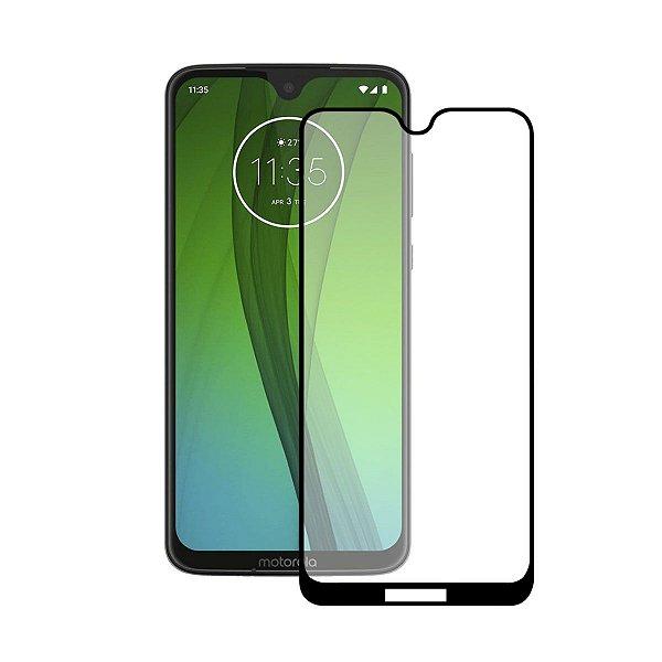 Película Coverage 5D Pro Preta para Motorola Moto G7 Plus - Gshield
