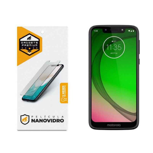 Película de Nano Vidro para Motorola Moto G7 - Gshield