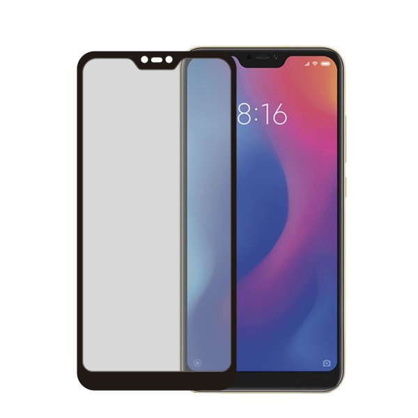 Película Coverage 5D Pro Preta para Xiaomi Mi A2 Lite - Gshield