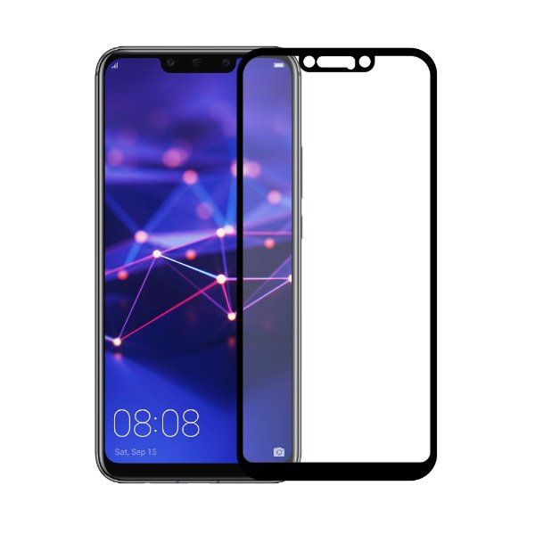 Película Coverage Color para Huawei Mate 20 Lite - Preta - Gorila Shield