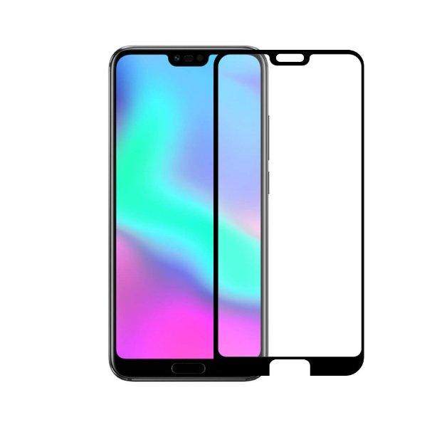 Película Coverage Color para Huawei Honor 10 - Preta - Gorila Shield