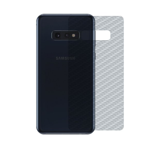 Película Traseira de Fibra de Carbono Transparente para Samsung Galaxy S10E - Gshield