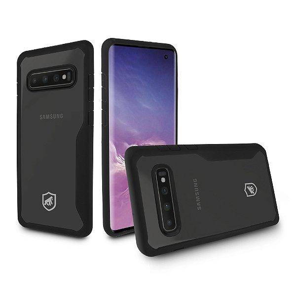 Capa Atomic para Samsung Galaxy S10 - Preta - Gorila Shield