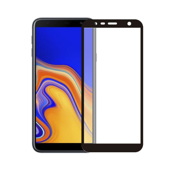Película Coverage Color para Samsung Galaxy J4 Plus - Preta - Gorila Shield