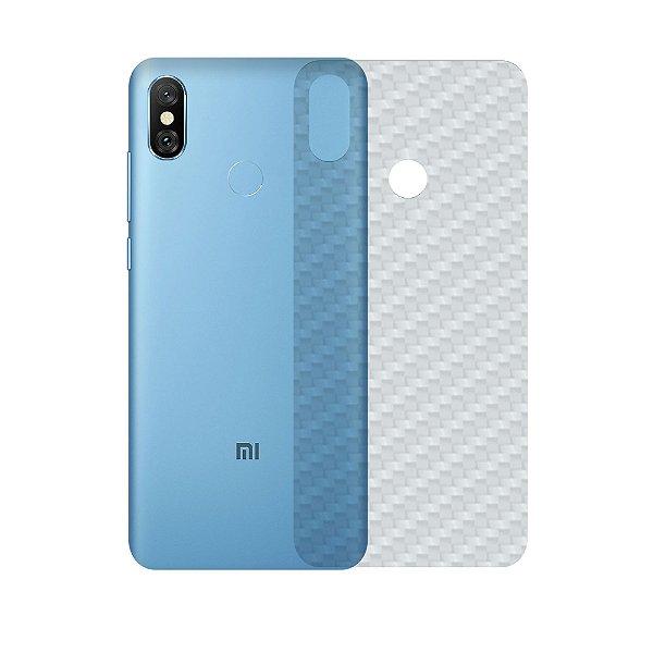 Película Traseira de Fibra de Carbono Transparente para Xiaomi Mi A2 - Gshield