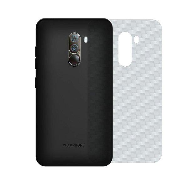 Película Traseira de Fibra de Carbono Transparente para Xiaomi Pocophone F1 - Gshield