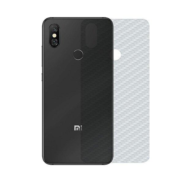 Película Traseira de Fibra de Carbono Transparente para Xiaomi Mi 8 - Gshield