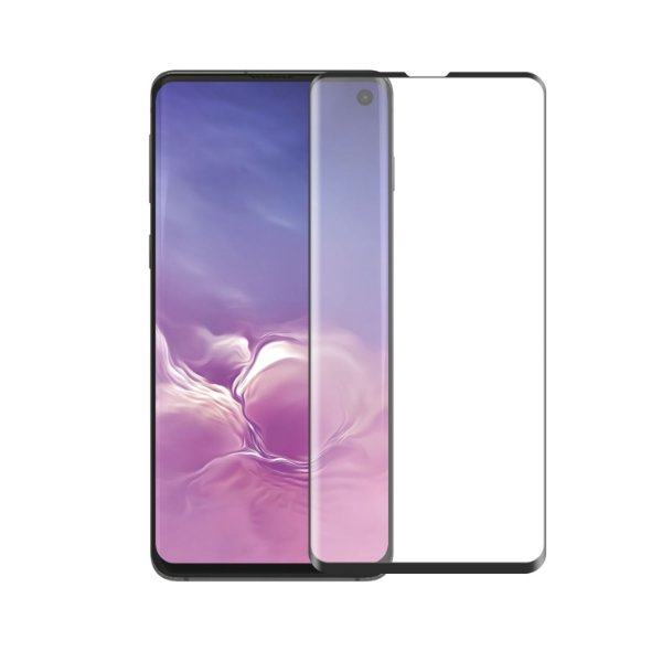 Película Coverage Color para Samsung Galaxy S10 - Preta - Gorila Shield