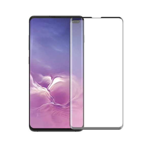 Película Coverage Color para Samsung Galaxy S10 Plus - Preta - Gorila Shield