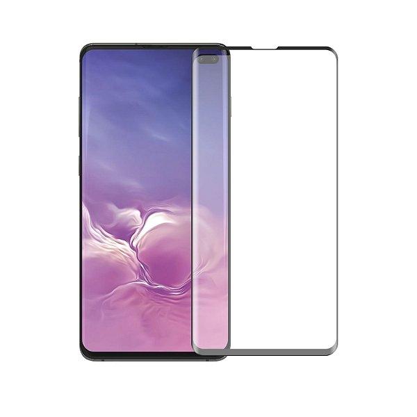 Película Coverage Color para Samsung Galaxy S10 Plus - Preta - Gshield