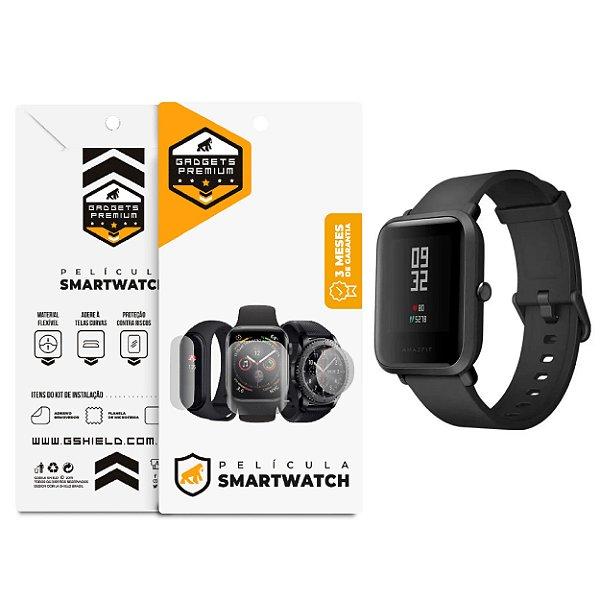 Película Nano Gel Dupla para smartwatch Xiaomi Amazfit Bip A1608 - Gshield