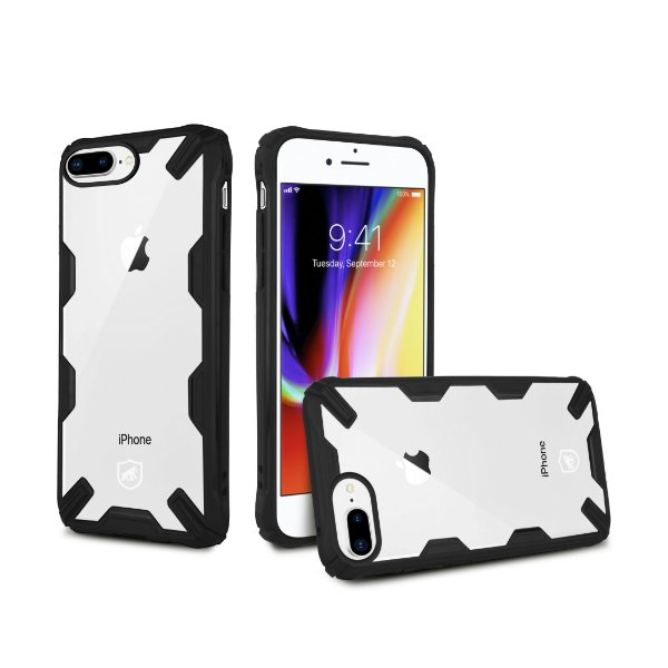 Capa Spider Preta para iPhone 7 Plus e iPhone 8 Plus - Gorila Shield