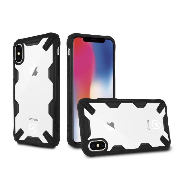 Capa Spider Preta para iPhone X e iPhone XS - Gorila Shield