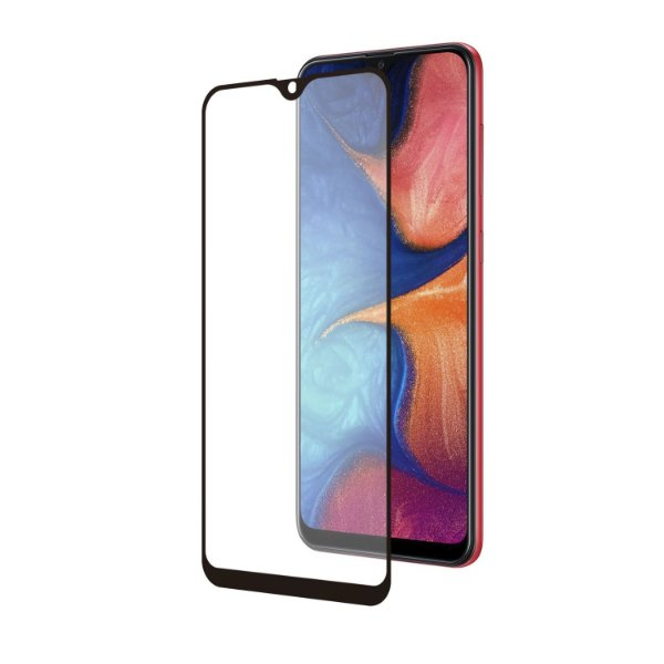 Película Coverage Color para Samsung Galaxy A20 - Preta - Gorila Shield