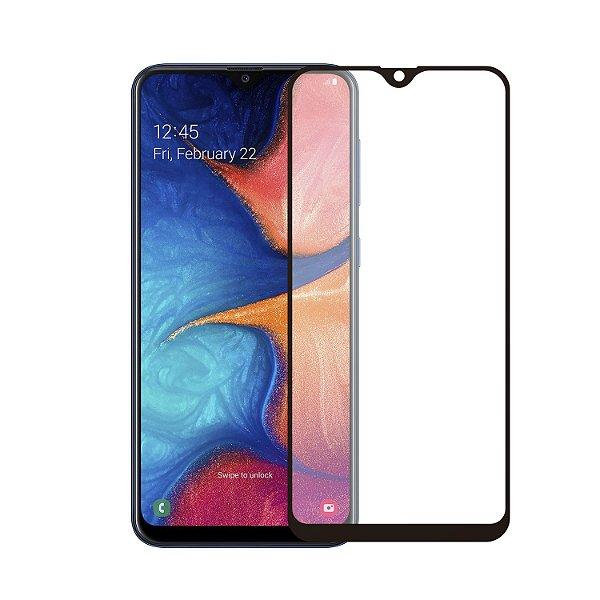 Película Coverage Color para Samsung Galaxy A30 - Preta - Gorila Shield